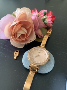 Used Fossil Watch - Rose Gold  in Dubai, UAE