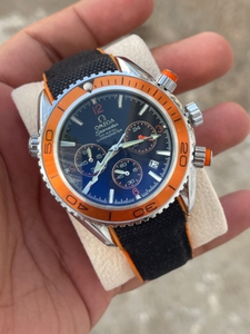 Used Omega chronograph Rubber strap Watch in Dubai, UAE