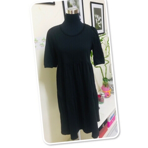Used H&M black oversize dress / medium ♥️ in Dubai, UAE