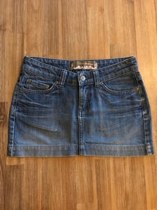 Used Miss Selfridge Denim Mini Skirt in Dubai, UAE
