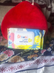 Used New unscented bebi Baby wet Wipes 60pc👶 in Dubai, UAE