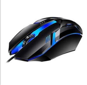 Used Brand New RGB Gaming Mouse Never used in Dubai, UAE