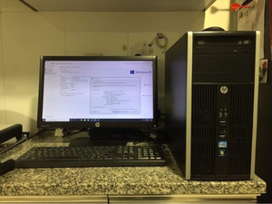 Used HP i7 Computer Desktop (Complete set) in Dubai, UAE