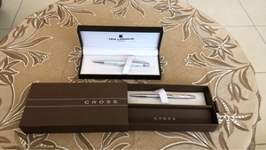 Used Cross and Ted Lapidus Paris pens. in Dubai, UAE