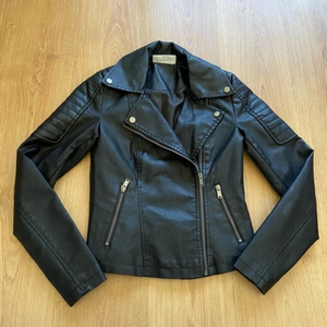 Used vegan leather jacket (XS) in Dubai, UAE