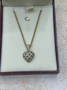 Used Swarovski Heart Necklace in Dubai, UAE