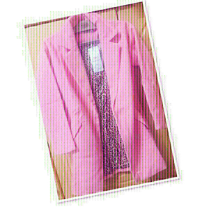 Used Pink Blazer Dress size / Small ♥️ in Dubai, UAE