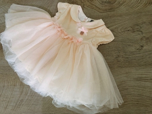 Used Dress for girl 0-6 months  in Dubai, UAE