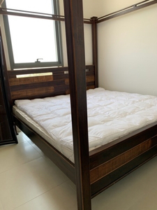 Used Beautiful bed in a very good condition  in Dubai, UAE