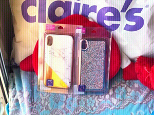 Used New IPhone XR covers from Claire's 💗✨ in Dubai, UAE
