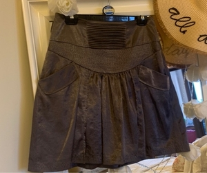 Used Dark grey silky skirt - promod - EUR38 in Dubai, UAE