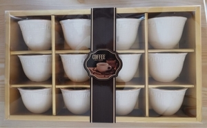 Used Brand new Coffee Cup Set 12 Pcs in Dubai, UAE