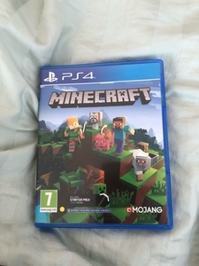 Used minecraft disc for playstation4 in Dubai, UAE