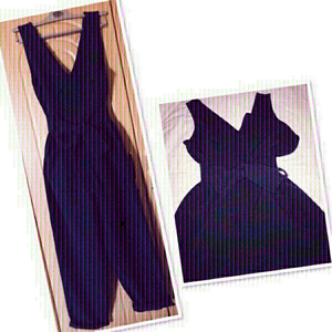 Used ASOS Jumpsuit Navy Blue /Size 12 ♥️ in Dubai, UAE