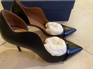 Used Malone Souliers black pumps in Dubai, UAE