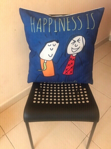 Used 2 chairs with cushions  in Dubai, UAE