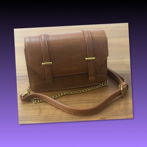 Used BROWN SMALL MESSENGER SHOULDER BAG in Dubai, UAE