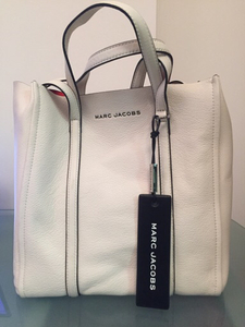 Used Marc Jacobs The Tag Tote 27 Porcelain in Dubai, UAE