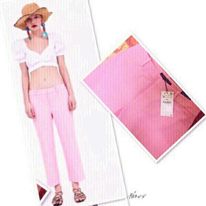 Used Zara Pink Pants- Medium 💙 in Dubai, UAE
