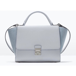 Used Zara light blue bag in Dubai, UAE