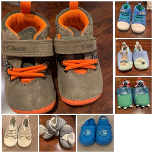 Used Brand new infant shoes 7 pairs in Dubai, UAE