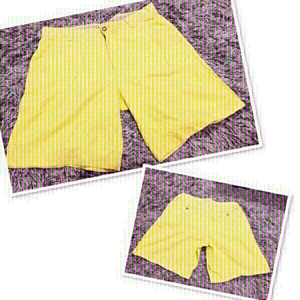 Used Izod Yellow Short/ size 34 ♥️ in Dubai, UAE
