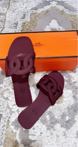 Used Hermes Aloha sandals 36copy in Dubai, UAE