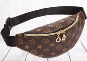 Used Amazing belt bag brown & gold  in Dubai, UAE