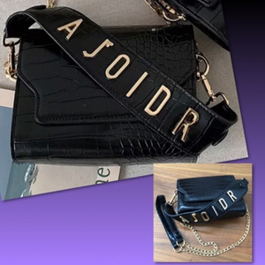 Used CROCODILE PATTERN CROSSBODY BAG // in Dubai, UAE