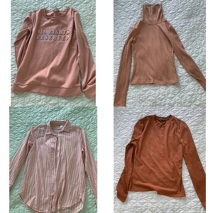 Used Bundle of 4 new and preloved xs size in Dubai, UAE