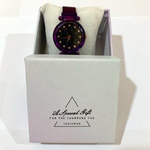 Used Magnetic Chain Analog Women Purple Watch in Dubai, UAE