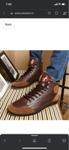 Used Casual leather shoes light brown in Dubai, UAE
