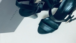 Used Charles & Keith heels  in Dubai, UAE