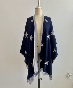 Used Poncho cape wrap shawl One Size in Dubai, UAE