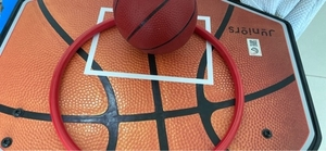 Used Basket ball set with ball in Dubai, UAE