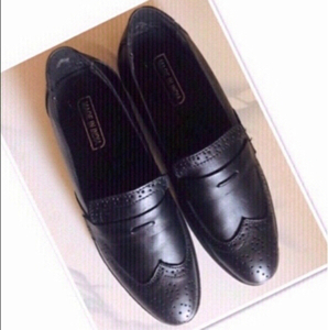 Used Black Formal Men Shoes size 7 ♥️ in Dubai, UAE