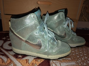 Used Nike Dunk Sky Hi Wedge Sneakers  in Dubai, UAE