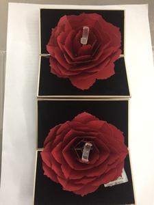 Used Rose Ring Gift Box	 Elimi29924 in Dubai, UAE