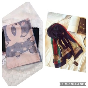 Used Channel and gucci scarf in Dubai, UAE