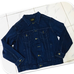 Used Dark Denim Jacket / Large ♥️ in Dubai, UAE