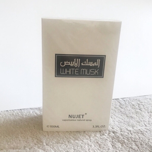 Used NUJET White Musk Perfume in Dubai, UAE