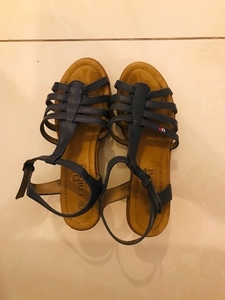 Used Used once sandal, size 40  in Dubai, UAE