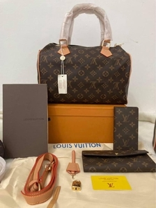 Used LV Speedy Set with Wallet in Dubai, UAE