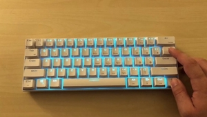 Used Rk61 (royal kludge) gaming keybaord  in Dubai, UAE