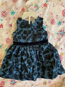 Used Carters girls dress 9 months  in Dubai, UAE