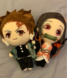 Used NEZUKO AND TANJIRO ANIME PLUSHIES in Dubai, UAE