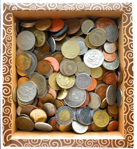 Used 1/2kg of european collectible coins in Dubai, UAE