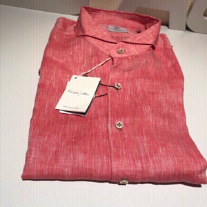 Used Shirt CORDONE LINEN CORAL size 42 in Dubai, UAE
