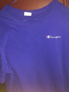 Used Champion blue t shirt in Dubai, UAE