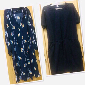 Used Tucker NYC Dress / Medium + 1 free Blk♥️ in Dubai, UAE